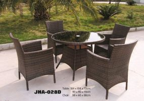 Rattan Dining Sets ,  JHA-028D
