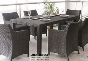 Rattan Dining Set , JHA-0293