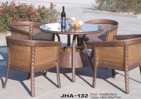 Modern Wicker Dining Furnitures ,  JHA-132