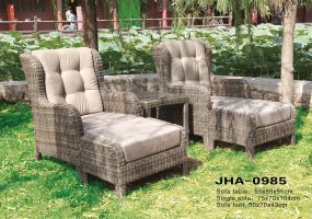 Patio Leisure Classic Rattan Sofa Set, JHA-0985