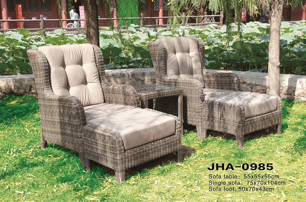 Patio Leisure Classic Rattan Sofa Set