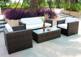 Isofu Modern Wicker Sofa Set , JHA-090