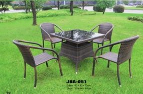 Casa Design Wicker Dining Set ,JHA-051