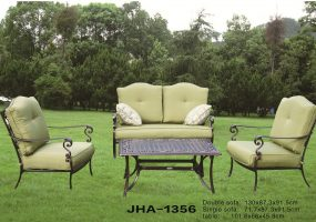 Victron Cast Iron Sofa Set , JHA-1356