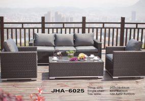 Outdoor Rattan Sofa Set ,  JHA-6025