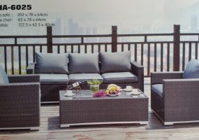 Outdoor Rattan Sofa Set ,  JHA-6025