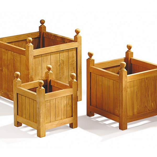 Versailles Teak Planter Set