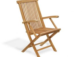 Teak Wood Dining Arm Chair , HC-125