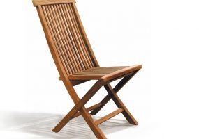 Teak Wood Dining Folding Chair, HC-128