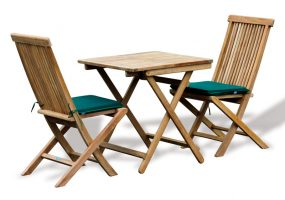 Rimini Teak Wood Folding Table Set , HC-173