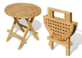 Folding Round Picnic Table HC-005A