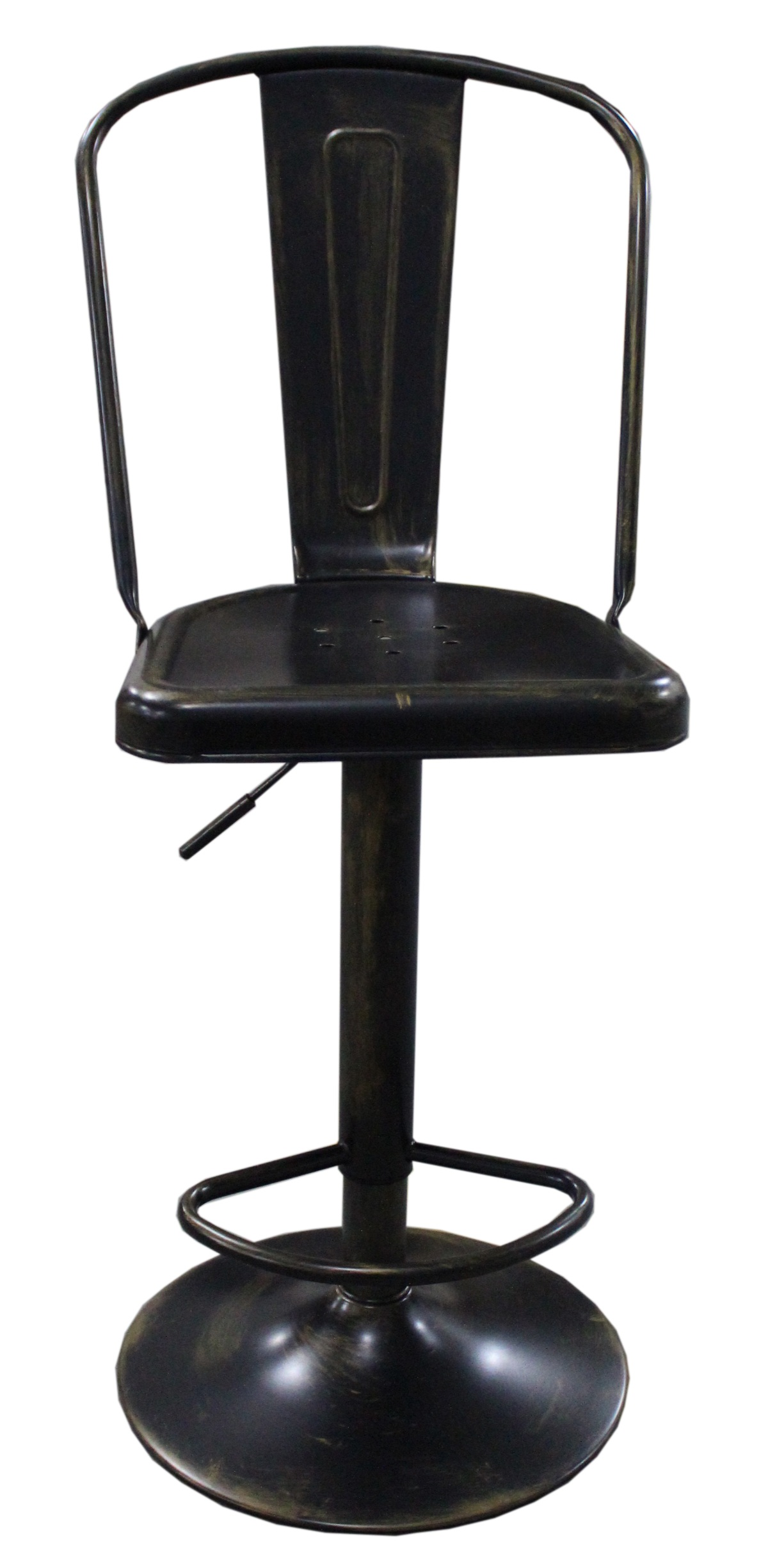 its adjustable metal bar stool, comes with many colours