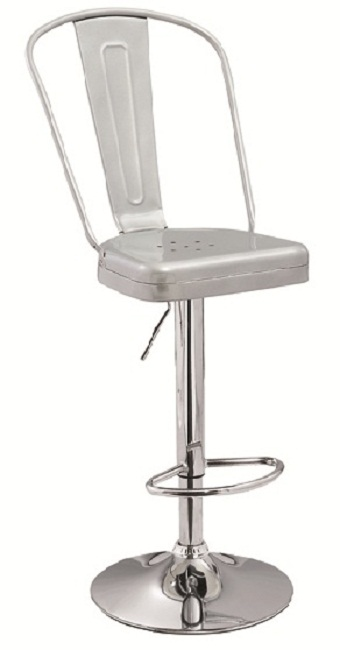Metal Bar Chair High Back
