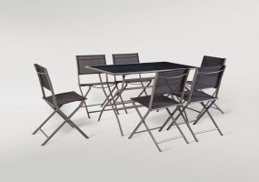 Folding Patio Dining Set ,  JHA-1044