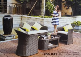 Cobish Outdoor Deck Sofa Set,  JHA-041