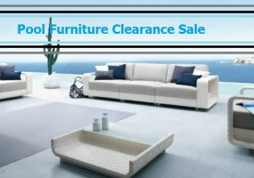 Pool Furniture Clearance Sale