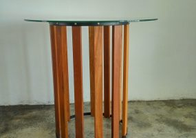 Wood Round Table Balau  , KTS-12