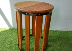 Balau Wooden Stool , KTS-09
