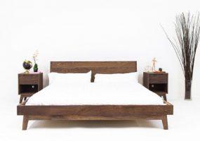 Teak Wood Bed Set , JF-201