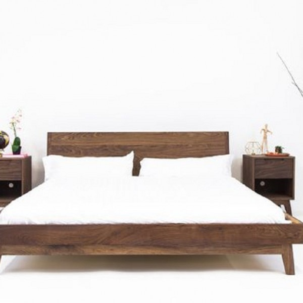 Teak Wood Bed Set