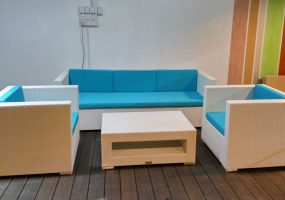 Outdoor Wicker Sofa  , JF-01