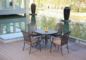 Cast Aluminum Patio Set, JHA-603