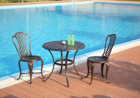 Cast Aluminum Patio Set, JHA-0929