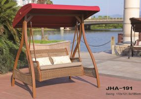 Wicker Double Swing, JHA-191