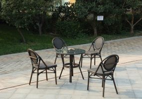 Cafe Outdoor Dining Set , JHA-327