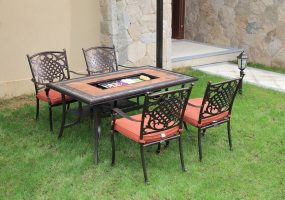 Cast Aluminum Dining Set, JHA-616