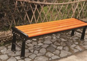 Die Casting Aluminum Wooden Bench, JHA-LC015