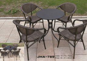 Cafeteria Dinning Set , JHA-789