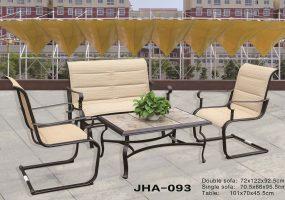 Die Casting Aluminum Sofa Set, JHA-093