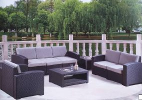Molded Rattan Design Sofa Set, JHA-6025A