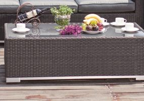 Wicker Coffee Table, JHA-6025