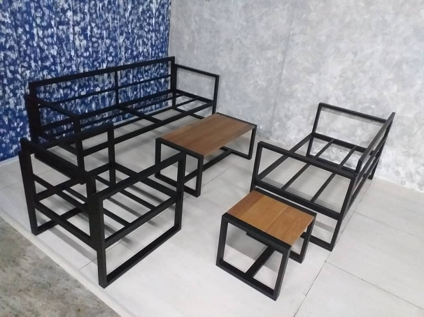 Mild steel sofa set