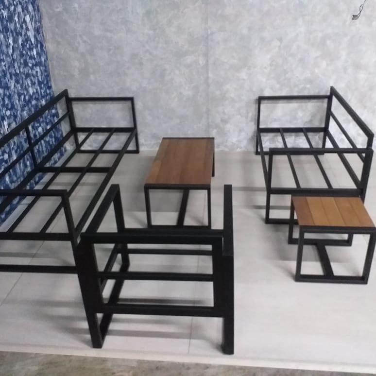 balau mild steel furniture