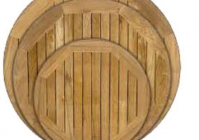 Assorted Teak Wood Table Top, JD-702