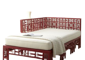 Asian Accents Designer Collection Bed. JD-653
