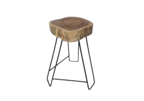 Side Table Wooden Slab, KTS-20A