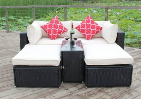 Alizas Outdoor Patio Set, JHA-SDT010