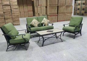 Aazerins Cast Iron Sofa Set, JHA-1356B
