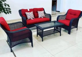 Akeels Wicker Sofa Set, JHA-0964