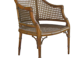 Aimee French Melton Cane Chair, JD-2034