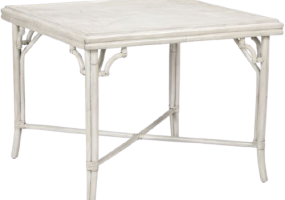 Aimee French Vintage White Dining Table, JD-193