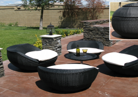 Space Saver Patio Furnitures , JHA-102