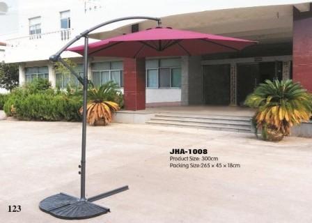Ivory Side Pole Garden Umbrella