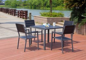Artificial Wood Dining Set, JHA-022