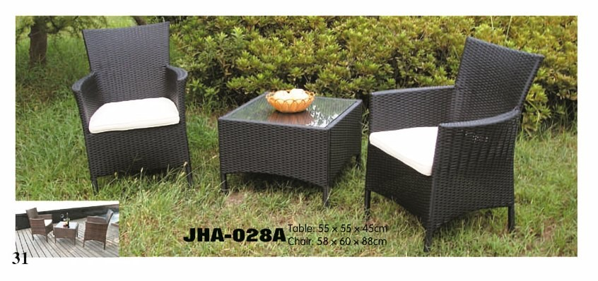 coffee chair and table set, rattan furniture, garden furniture
