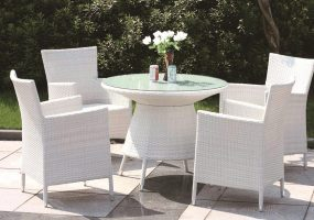 Wicker Dining Set , JHA-028E